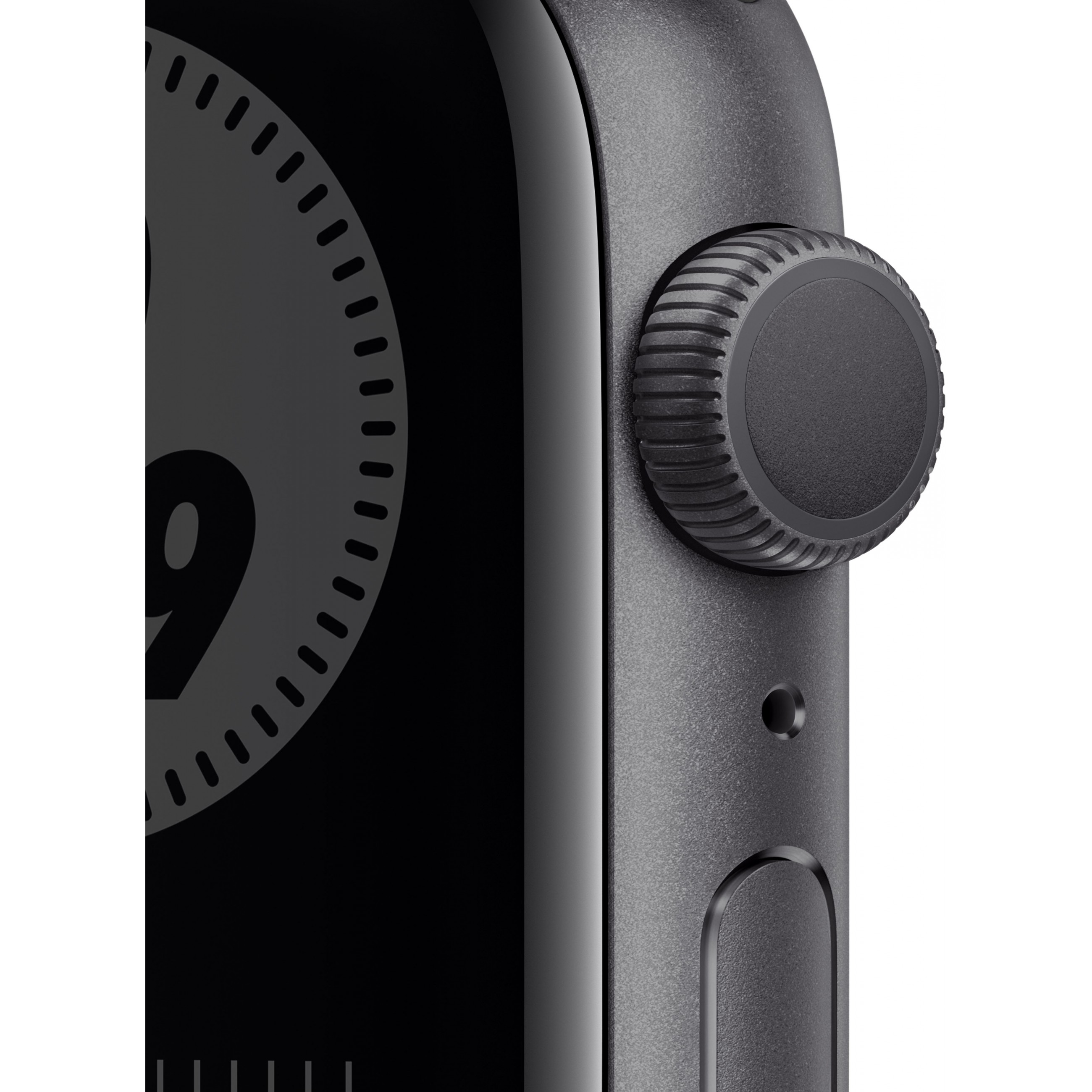 Apple Watch Nike Series 6 GPS, 44mm Space Gray Aluminium Case with Anthracite/Black Nike Sport Band - Regular *NEW*